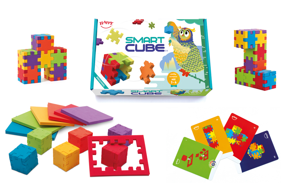 Little Genius Animals Happy Cube
