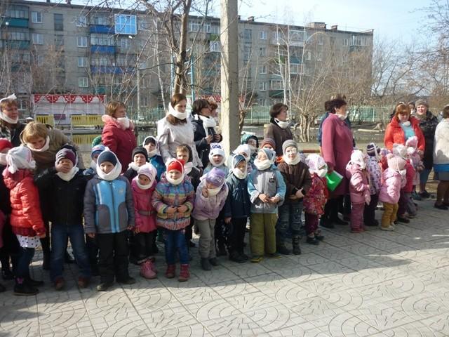 Школа-сад № 14, 2014 г. Эвакуация