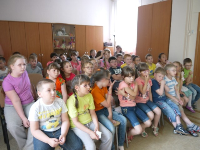 Школа-сад № 14, лето 2014 г