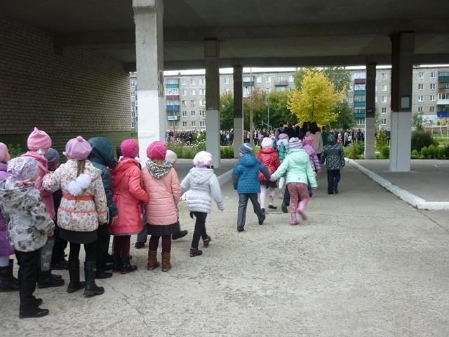 Эвакуация из школы № 1