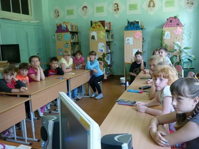 ДОЛ в школе № 11, 2014 г.
