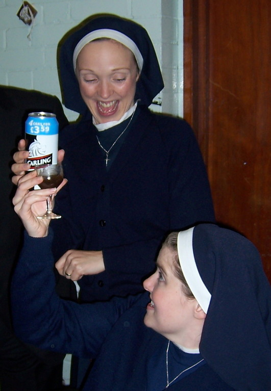 Nuns off the wagon? Leigh Daniels and Shirley Darroch