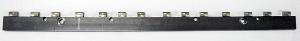 diamantatura tassello riportato a grana fine (0.20mm).