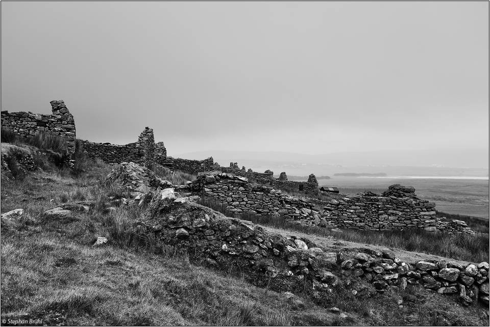 Deserted Village / Achill Island, Co. Mayo