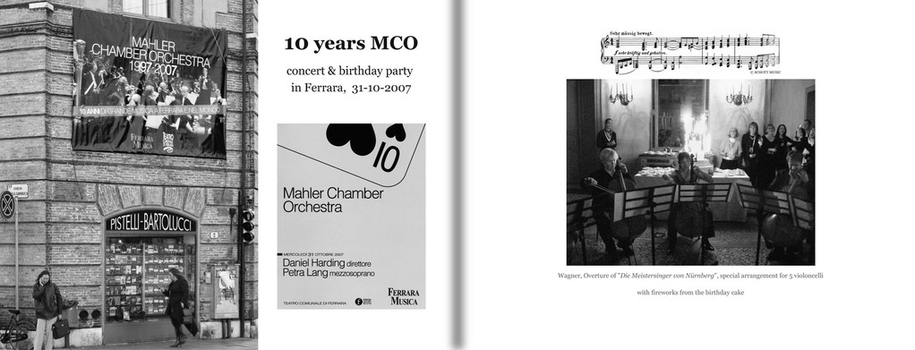 Page 6-7: 10 year anniversary Ferrara 2007