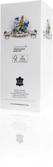 Bierholster Bier Holster Leder Schachtel Verpackung