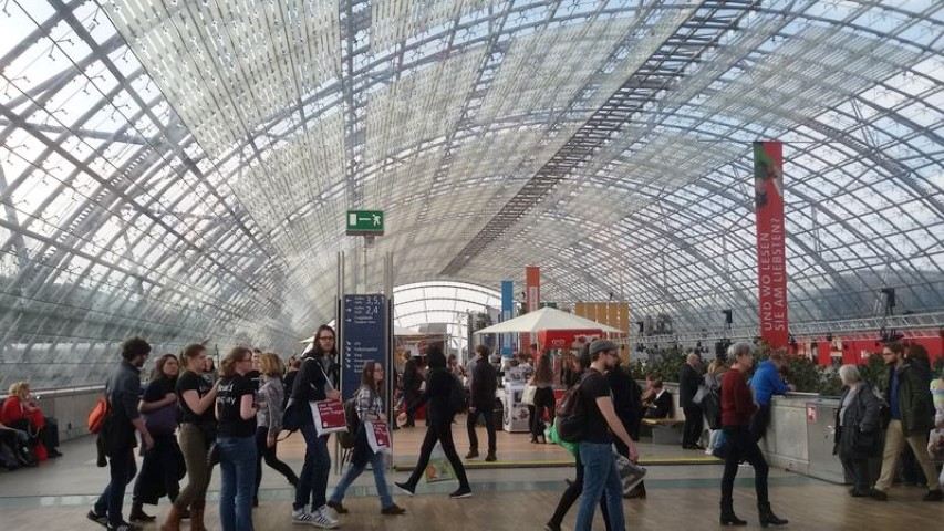 Buchmesse Leipzig - immer ein Erlebnis!