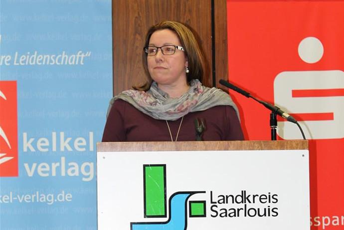In der Mundart von Differten: JULIANE RUTZ aus Berviller-en-Moselle