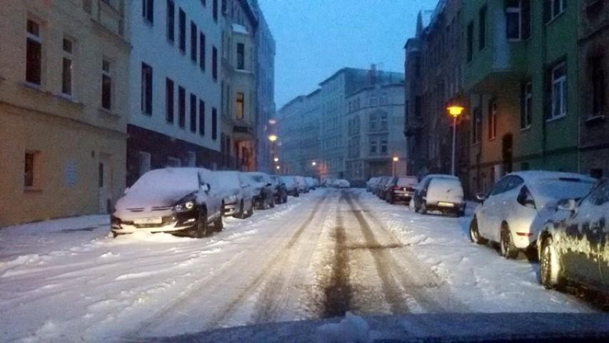 Wintereinbruch - heftig