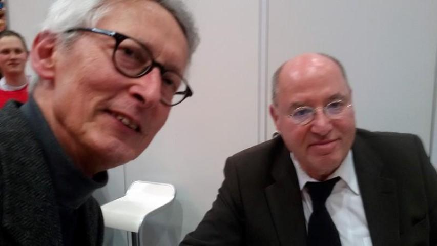 Autoren tauschen sich aus: Michael Mansion im Gespräch mit Gregor Gysi