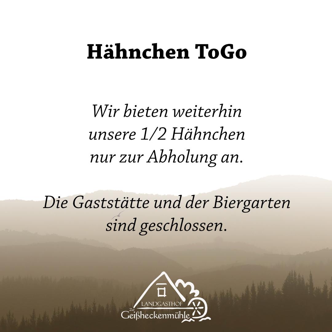 Hähnchen ToGo