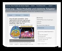 Pressemeldung PText - Wilhelms SHAKER - Kirmes, Jahrmarkt