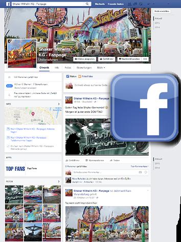 Foto: Die Facebook Fanpage von Wilhelms SHAKER aus der Hamburg / Wilhelms SHAKER - DAS Jahrmahrkts-/Kirmes Highspeed-Action-Fahrgeschäft