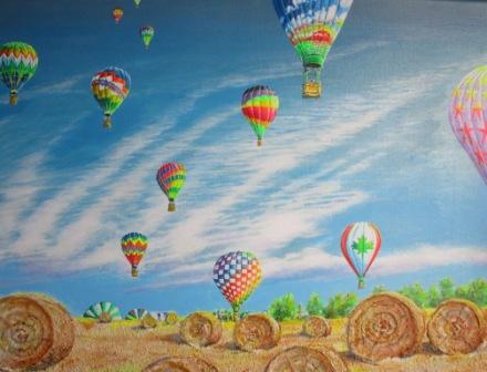 Farbenfrohe Ballons fliegen lassen - Dieter W. Glathe