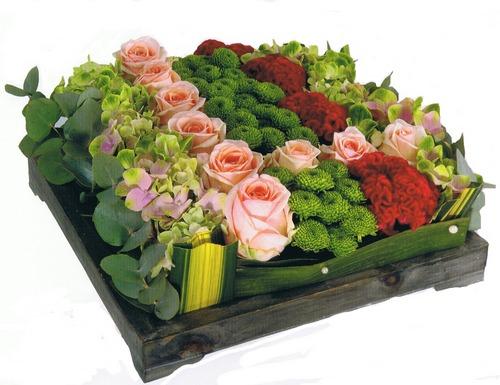 C3-Le Carré de fleurs variées