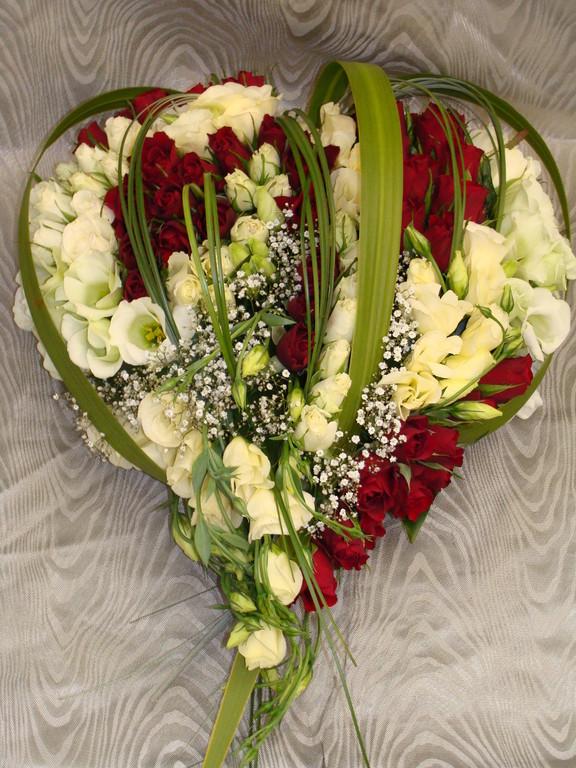 C6-Le Coeur de fleurs variées