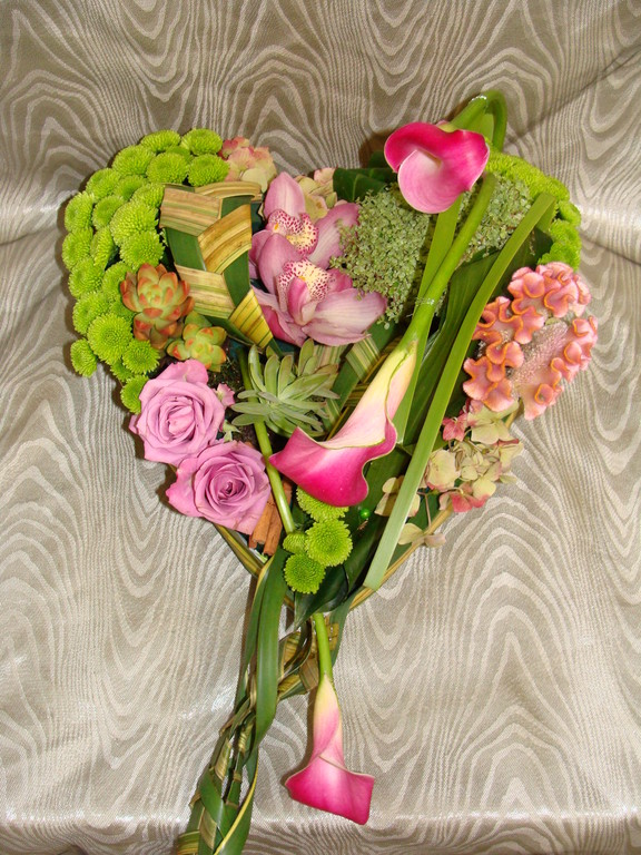 C5-Le Coeur de fleurs variées