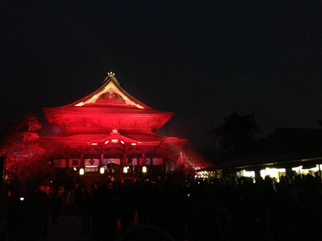 Zenkoji Temple [Dream night Festival]