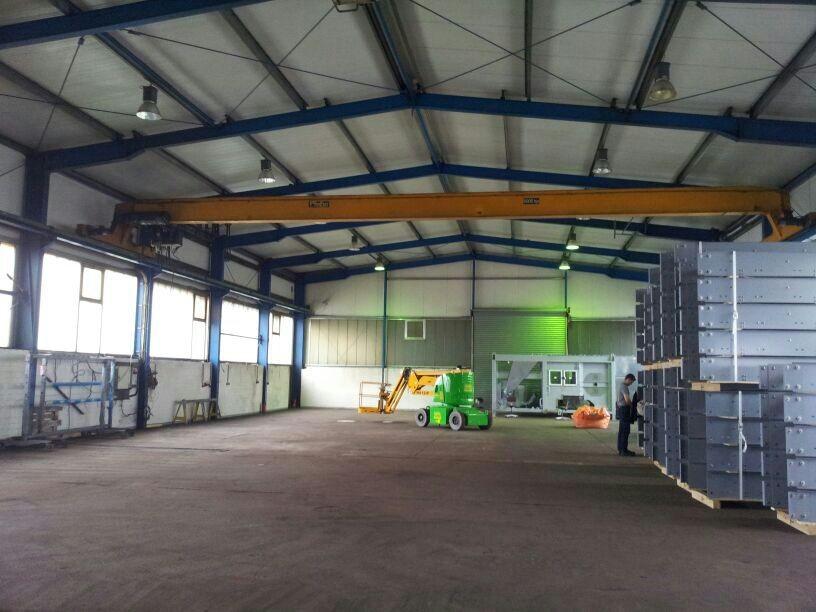 Industriehallenreinigung