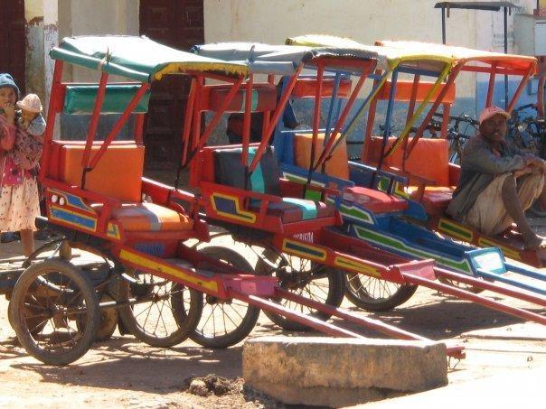 Pousse-pousses d'Antsirabe