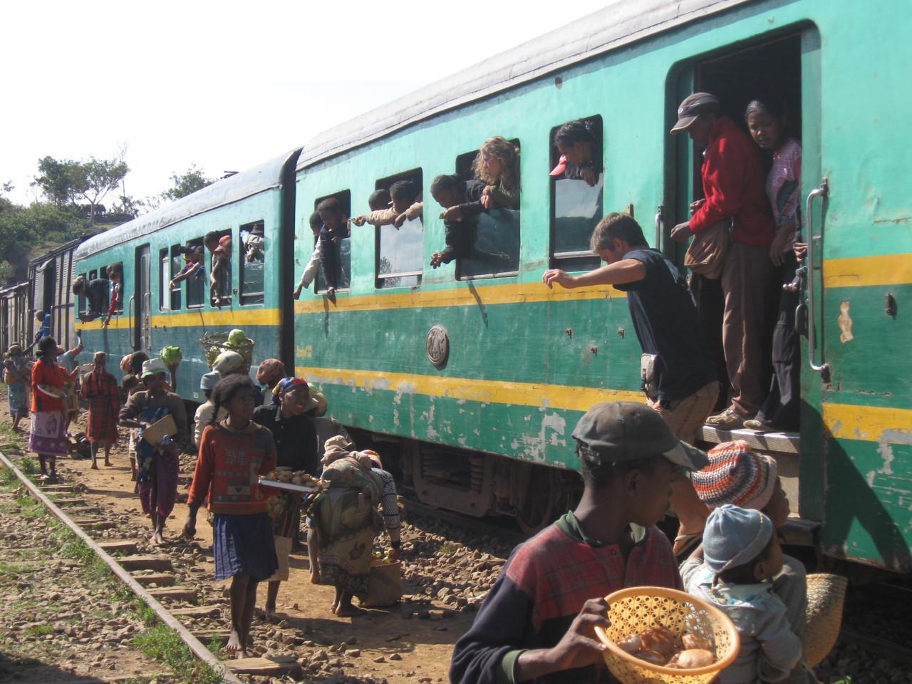 Train sur la Cote Est