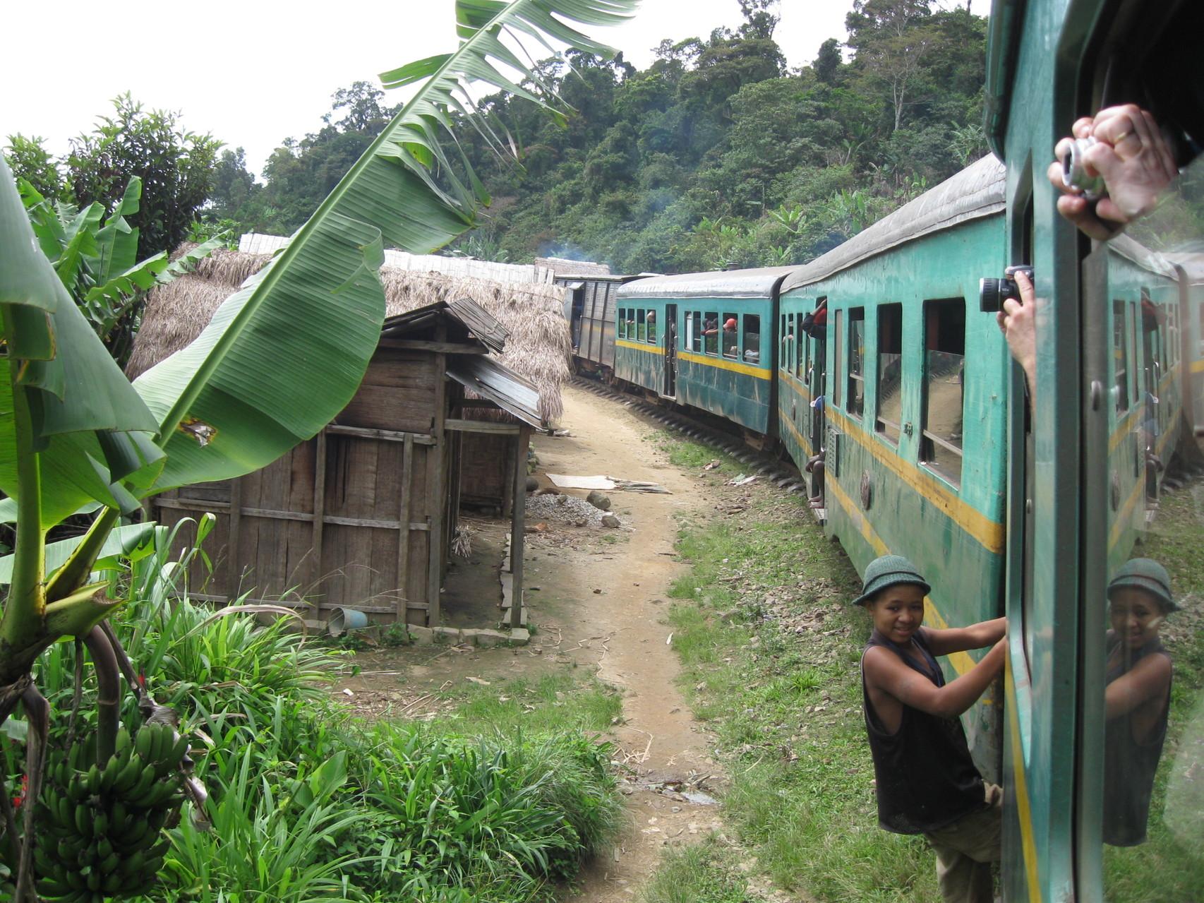 Arrivée du train