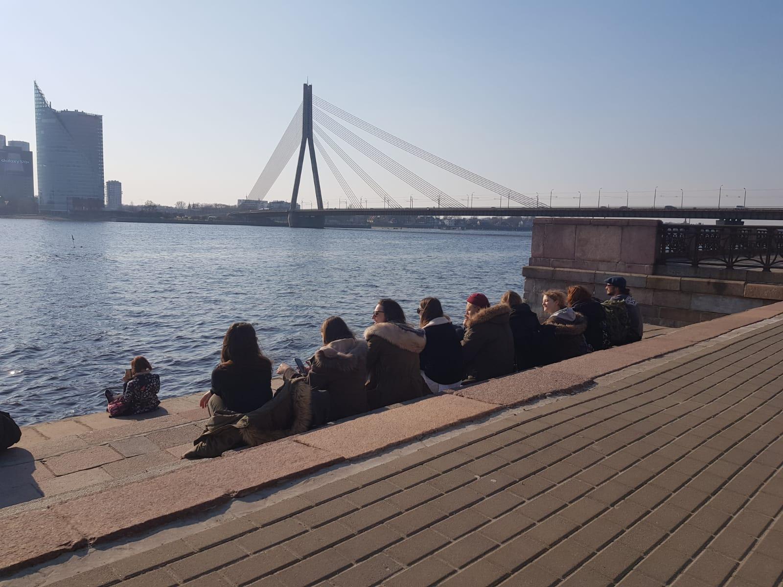 Am Hafen in Riga