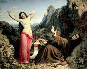 """""""la tentation de Saint Hilarion"""""""