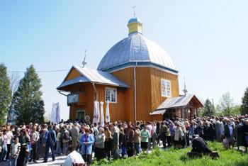 Notre Dame de Hrushiv en Ukraine