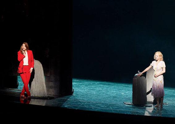 """""""Die Weiden"""" (R.: A. Moses), Wiener Staatsoper 2019 (mit Rachel Frenkel) (Foto: Michael Pöhn)"""
