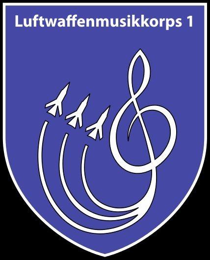 Luftwaffenmusikkorps 1 (internes Abzeichen)