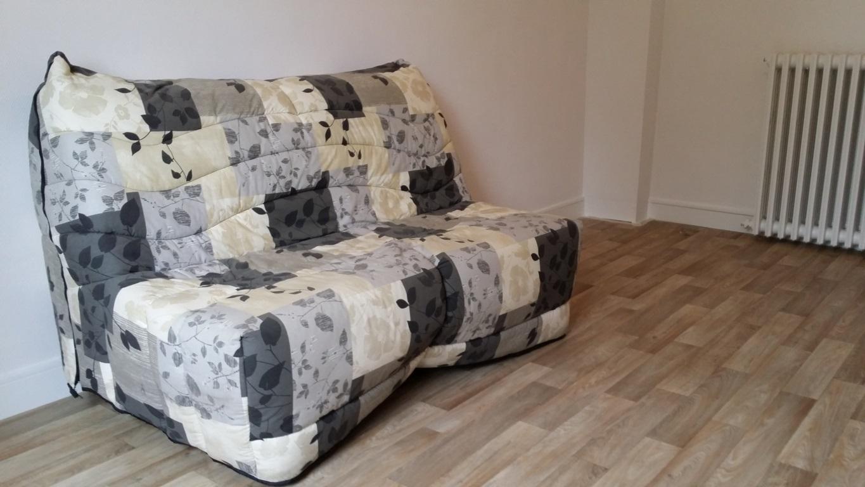 1er étage : Canapé de la Chambre de 14 m²