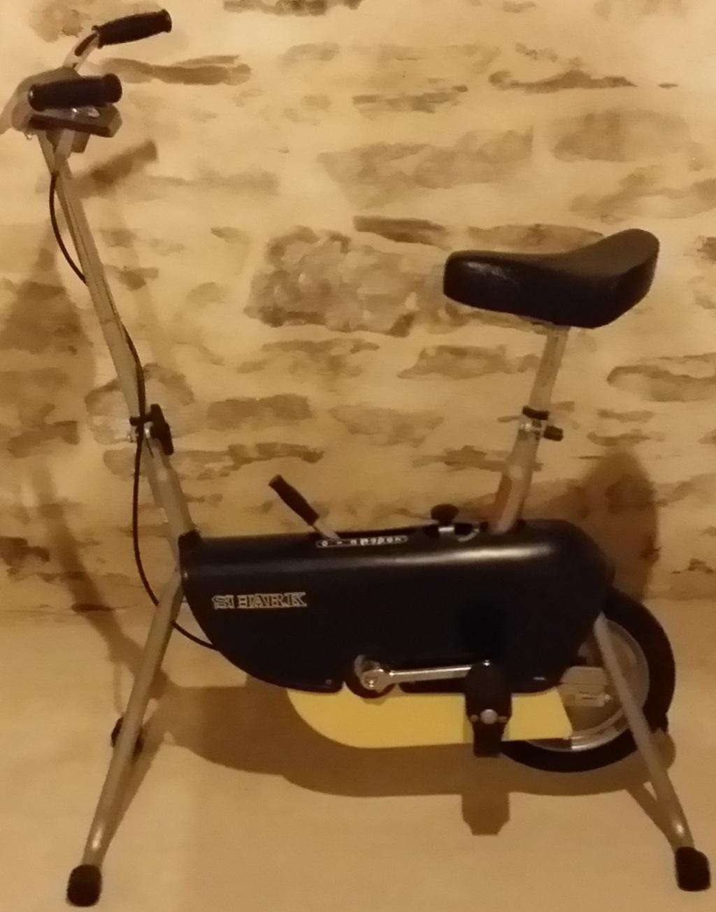 Vélo d'entrainement cardio