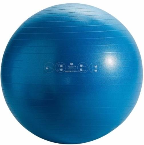 FitBall conçu pour les étirements, la pratique du Pilates, du stretching ou de la tonification