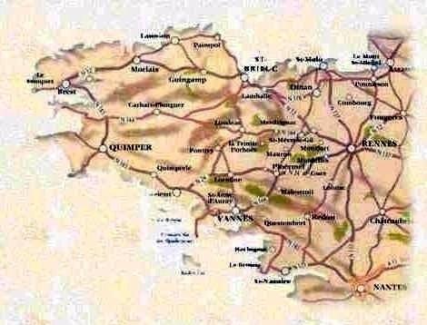 Le Roc Saint-André commune du Val d'Oust département du Morbihan région Bretagne France