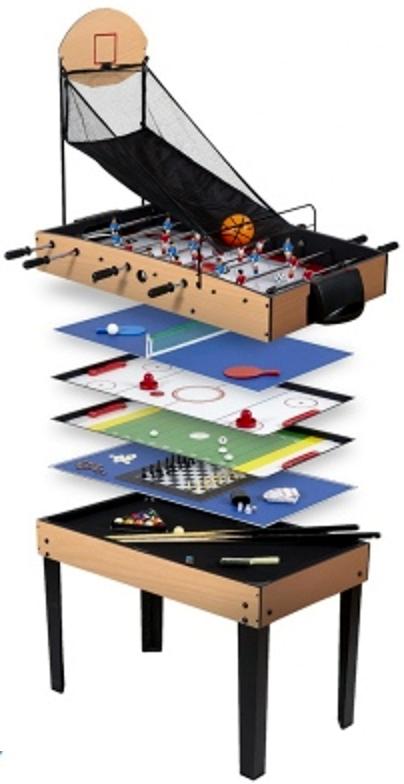 Table de jeu conviviaux multi-fonctions, multi-jeux