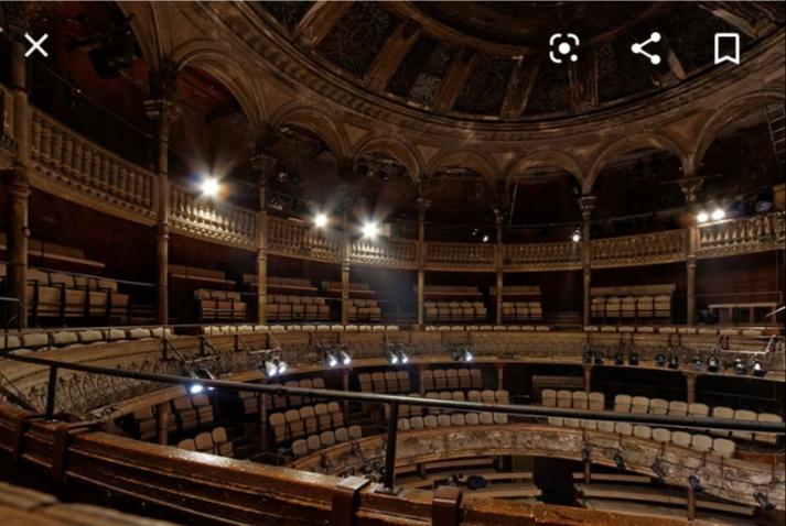 Théâtre des bouffes du Nord/ Réfection 504 siège en seulement 8 jours /