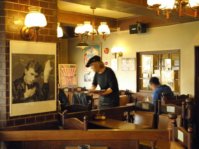 横浜 黄金町 喫茶店 珈琲山 デビッドボウイ
