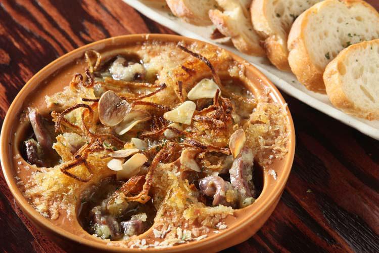 砂肝のアヒージョ/限定3食