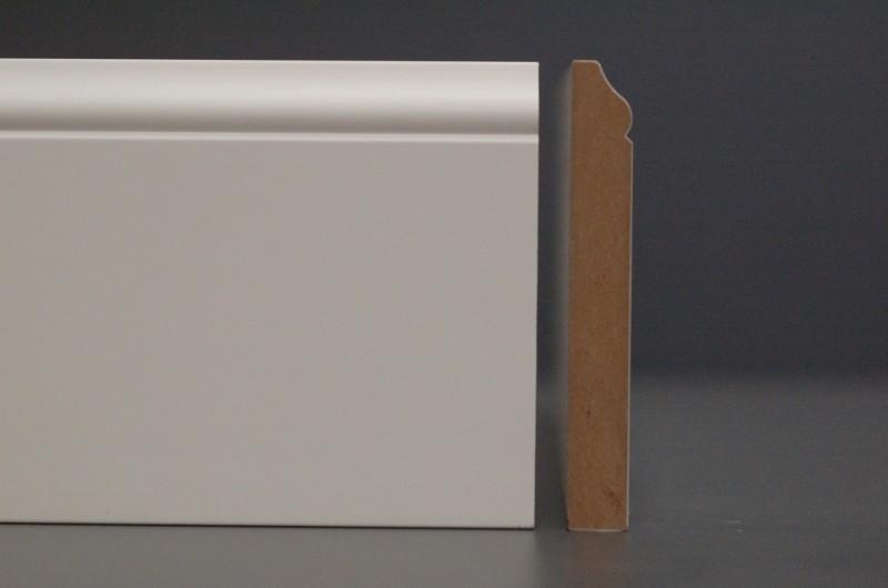 sockelleiste aus mdf typ 39 jugendstil 39 wei tamboga. Black Bedroom Furniture Sets. Home Design Ideas