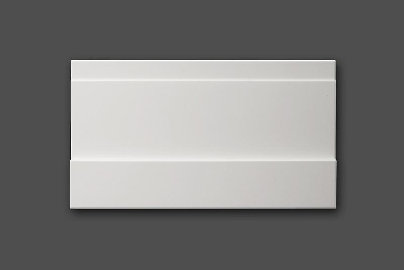 sockelleistenset aus mdf typ 39 bauhaus 39 wei tamboga. Black Bedroom Furniture Sets. Home Design Ideas