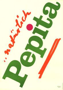 Pepita Plakat 1971
