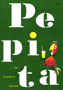 Pepita Plakat 1956