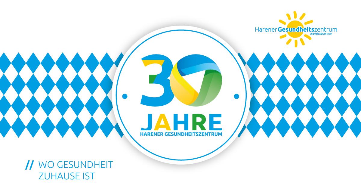 Jubiläum- 30 Jahre Harener Gesundheitszentrum