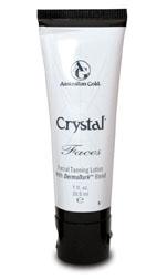 Crystal Faces Superior Products Australian Gold Zonnebank creme bronzer zoncosmetica DHA cosmetisch natuurlijk
