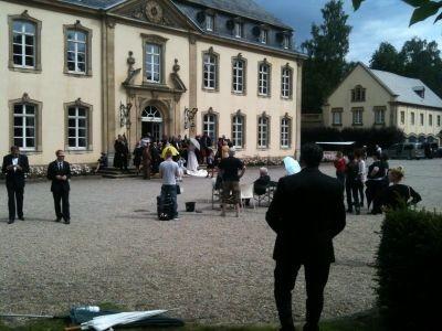 Suerte hat in Luxemburg ihre ersten Erfahrungen am Set sammeln dürfen. Ein unvergessliches Erlebnis.