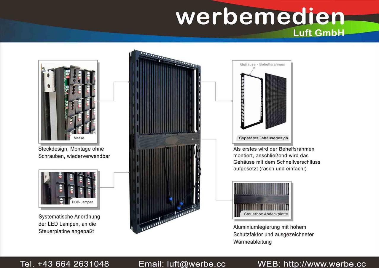 Viele Vorteile beim Design, Leichtbauweise und ultradünn (80 mm Einbautiefe)