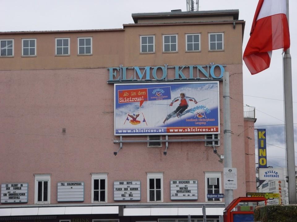Elmo Kino Salzburg 8 x 4 m