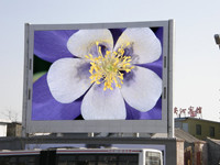 P14 LED Display als Firmenschild