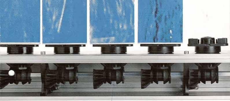TYPE: Wellenantrieb mit aufgesetzten Prismen